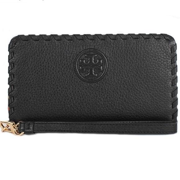 f7fa0a9f5751 Tory Burch Bags | Pebbled Leather Smartphone Wristlet | Poshmark